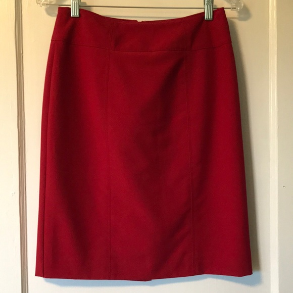 Worthington Dresses & Skirts - Worthington red pencil skirt